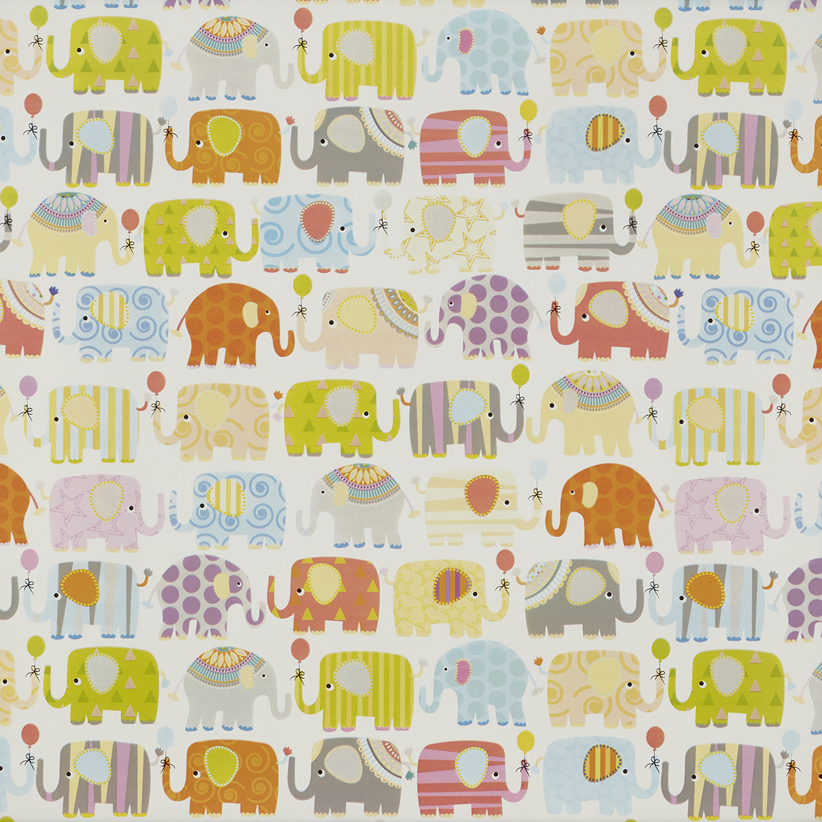 Elephant Parade Wrapping Paper