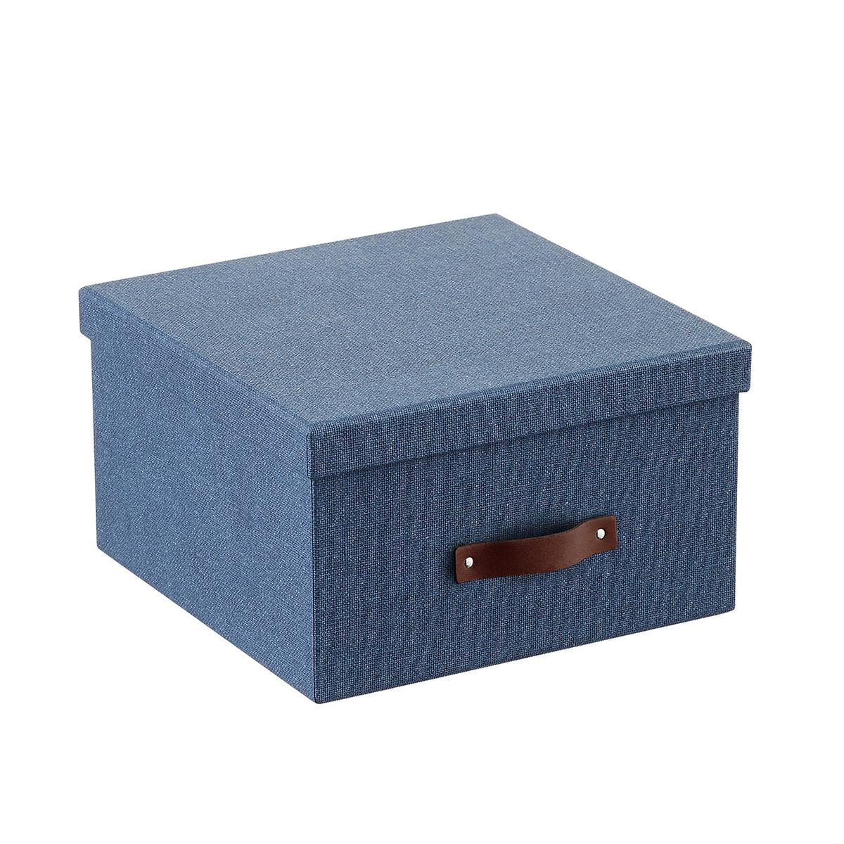 Bigso Navy Marten Photo Storage Box