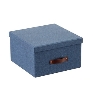 Bigso Navy Marten Photo Storage Box