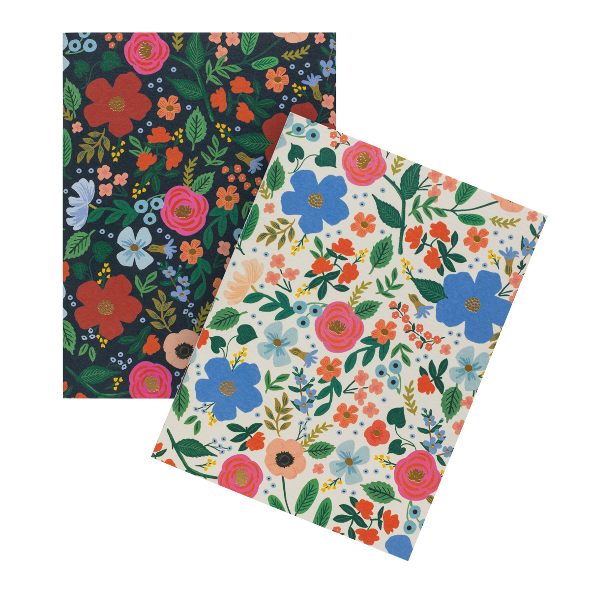 Rifle Paper Co. Wild Rose Set of 2 Pocket Notebooks