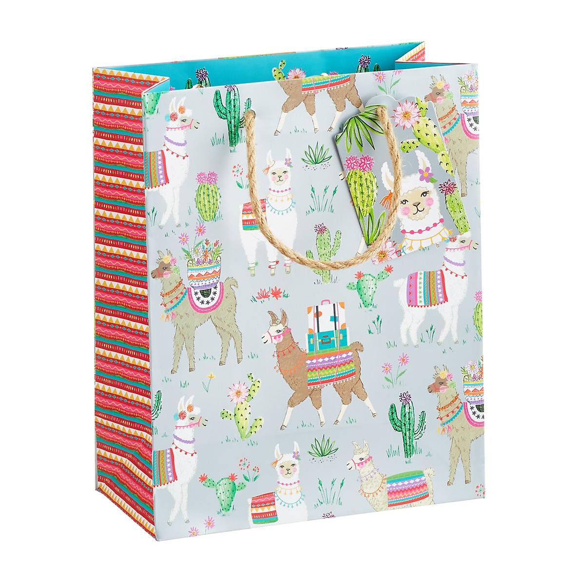 Medium Dolly Llama Gift Bag