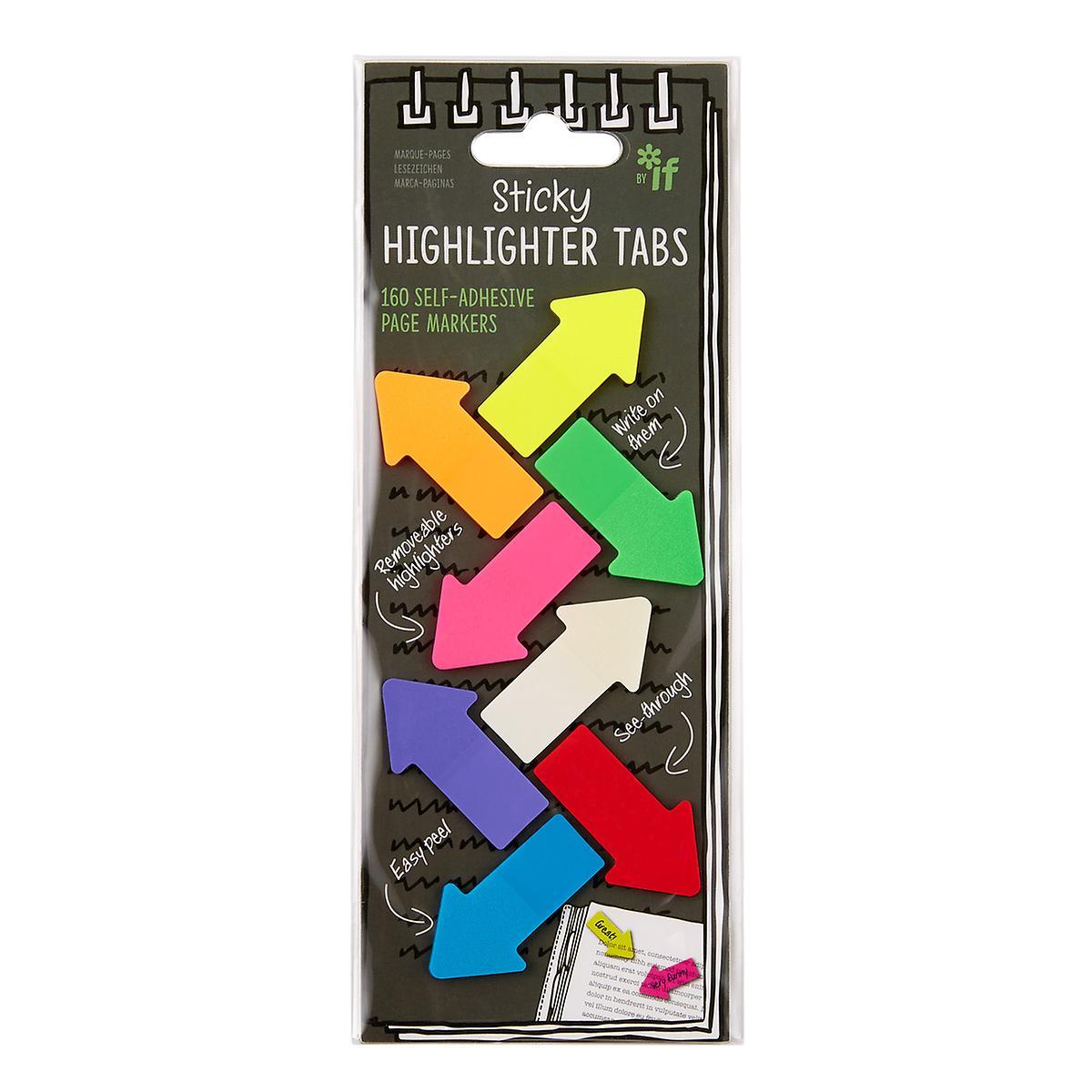 Sticky Highlighter Arrow Tabs