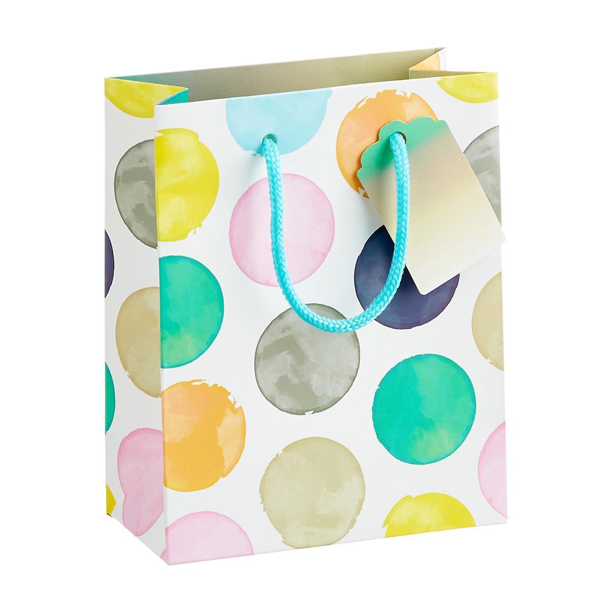 Mutli Dot Small Gift Bag