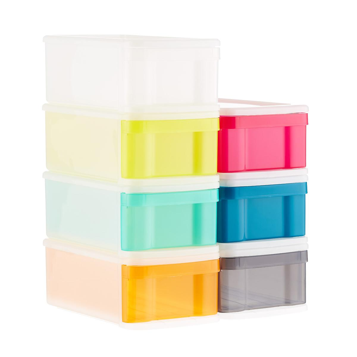 Small Tint Stackable Storage Drawer
