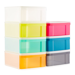 Large Tint Stackable Storage Drawer