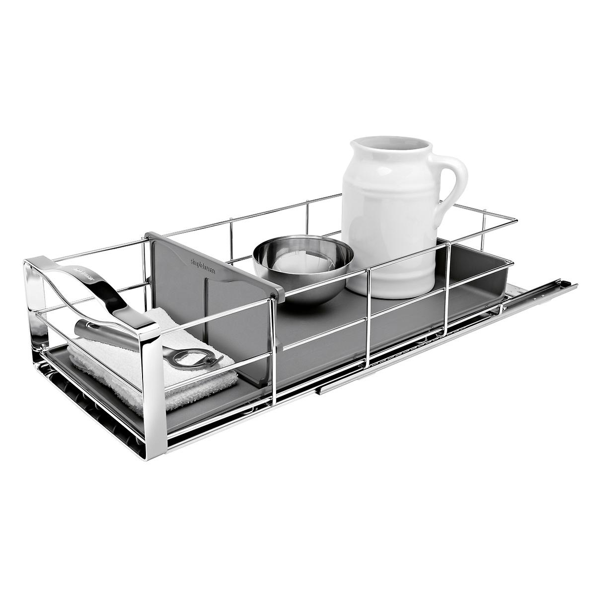 "simplehuman 9"" Pull-Out Cabinet Organizer"