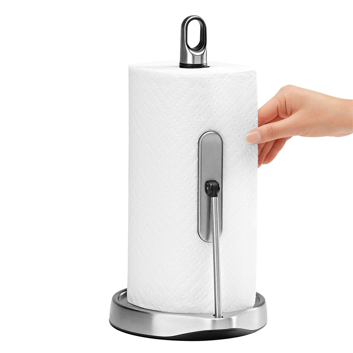 simplehuman Stainless Steel Tension Arm Paper Towel Holder