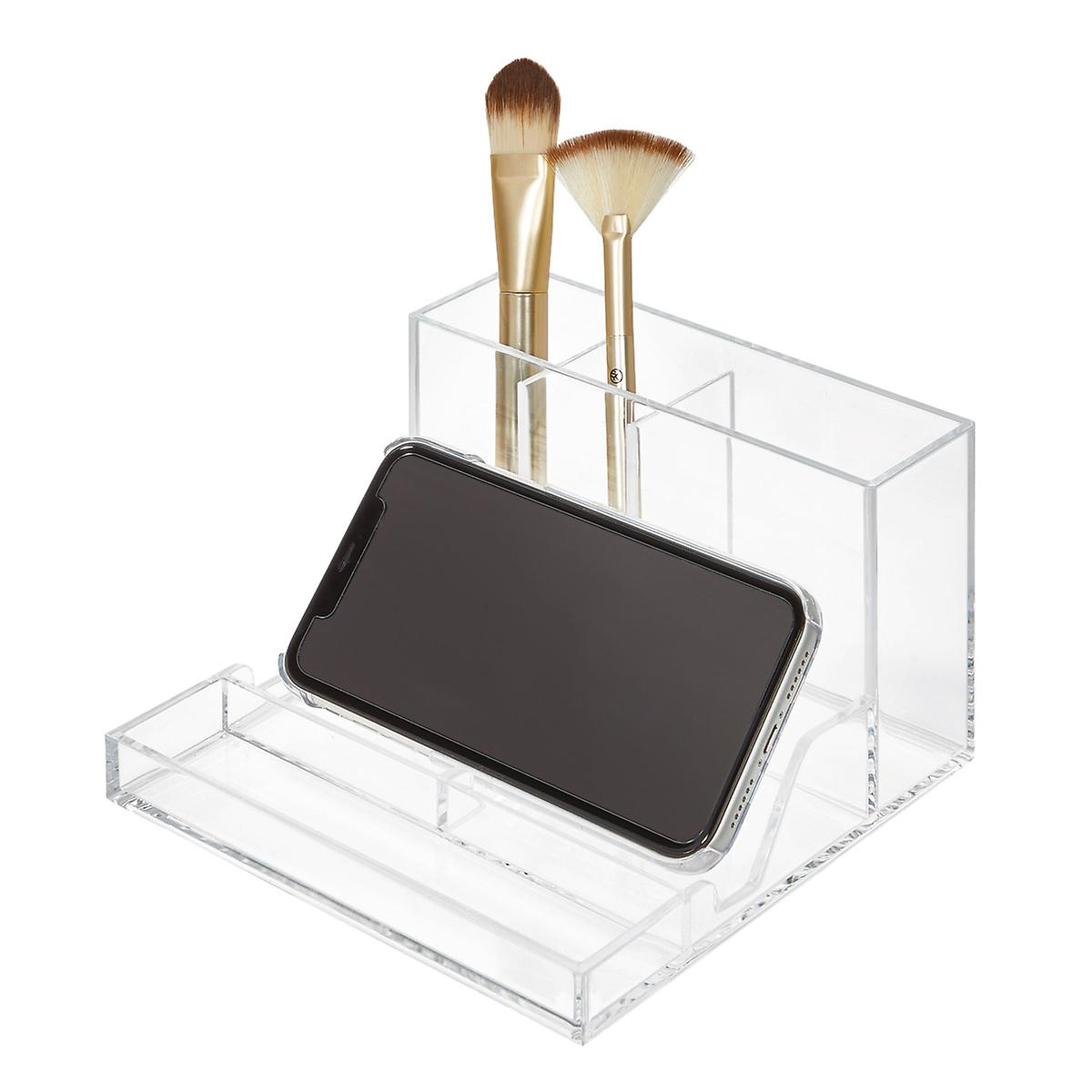 iDesign Clarity Stackable Makeup Organizer