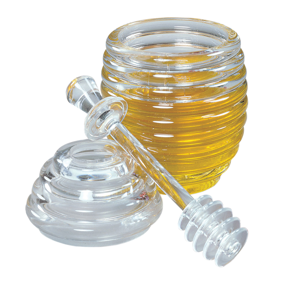 Honey Jar with Lid