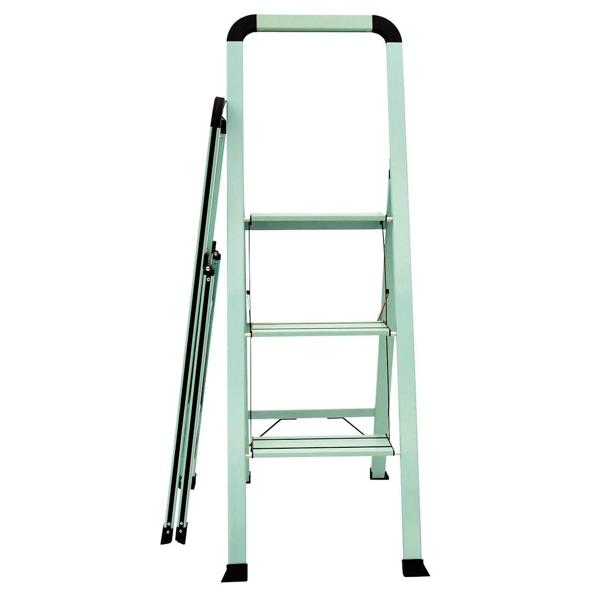 3-Step Teal Ladder