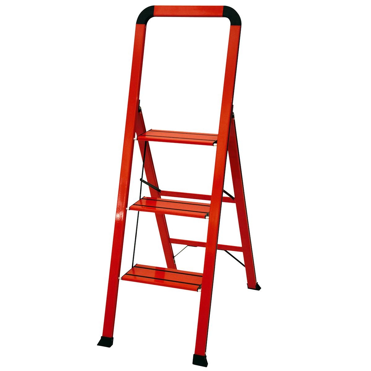 3-Step Red Ladder