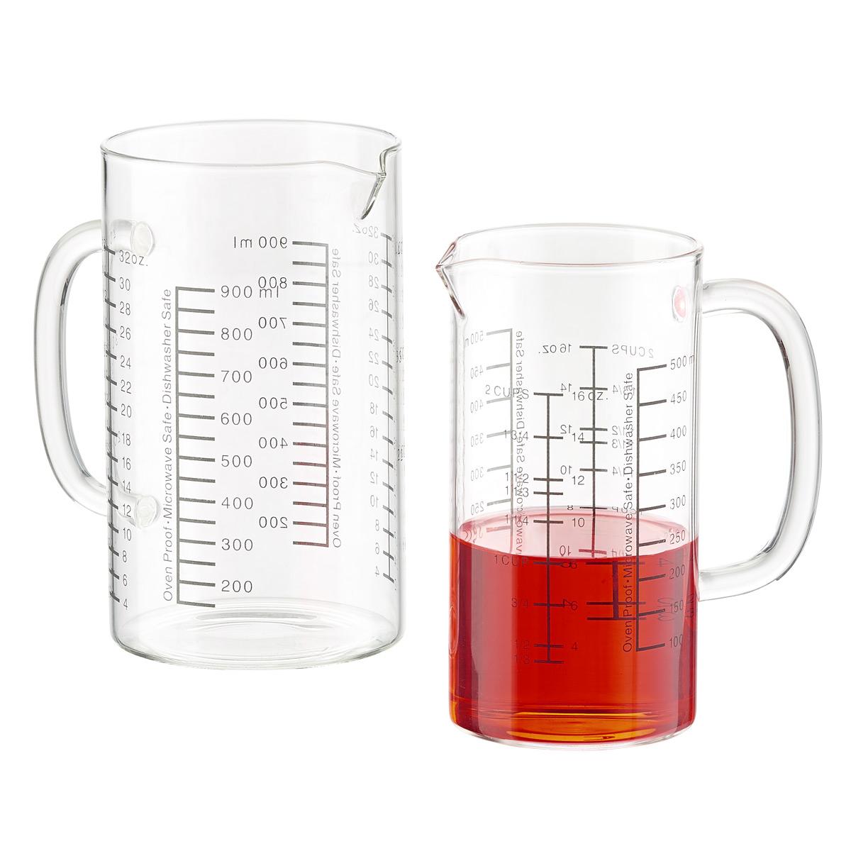 Borosilicate Measuring Cups