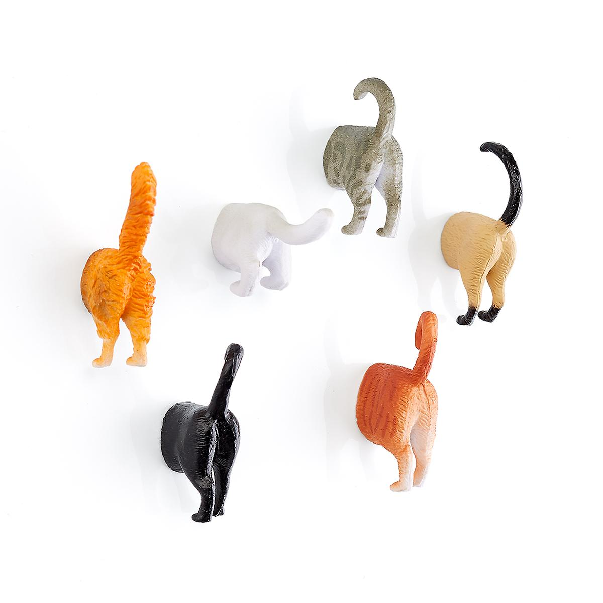 Cat Butt Magnets Pkg/6