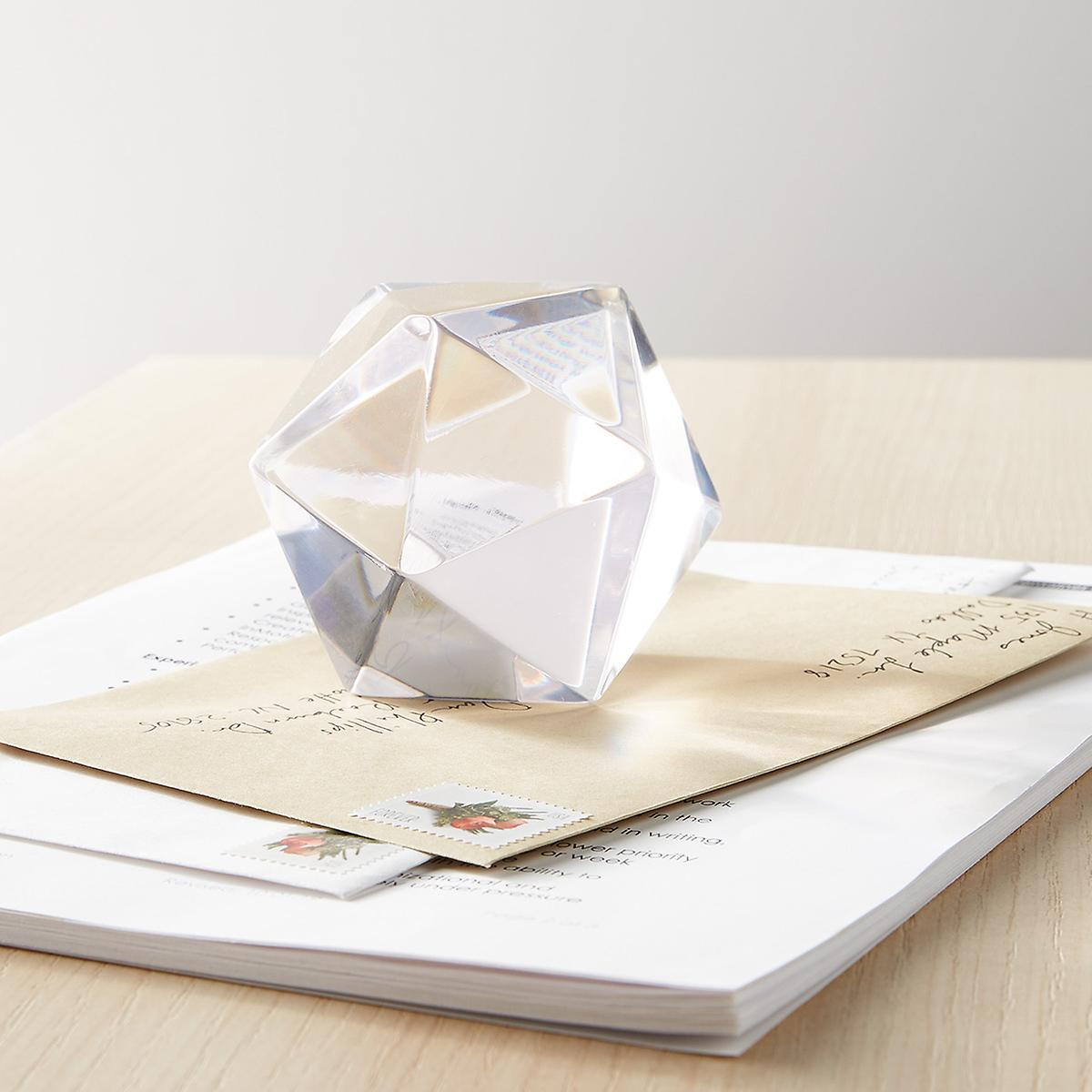 Polyhedra Paperweight