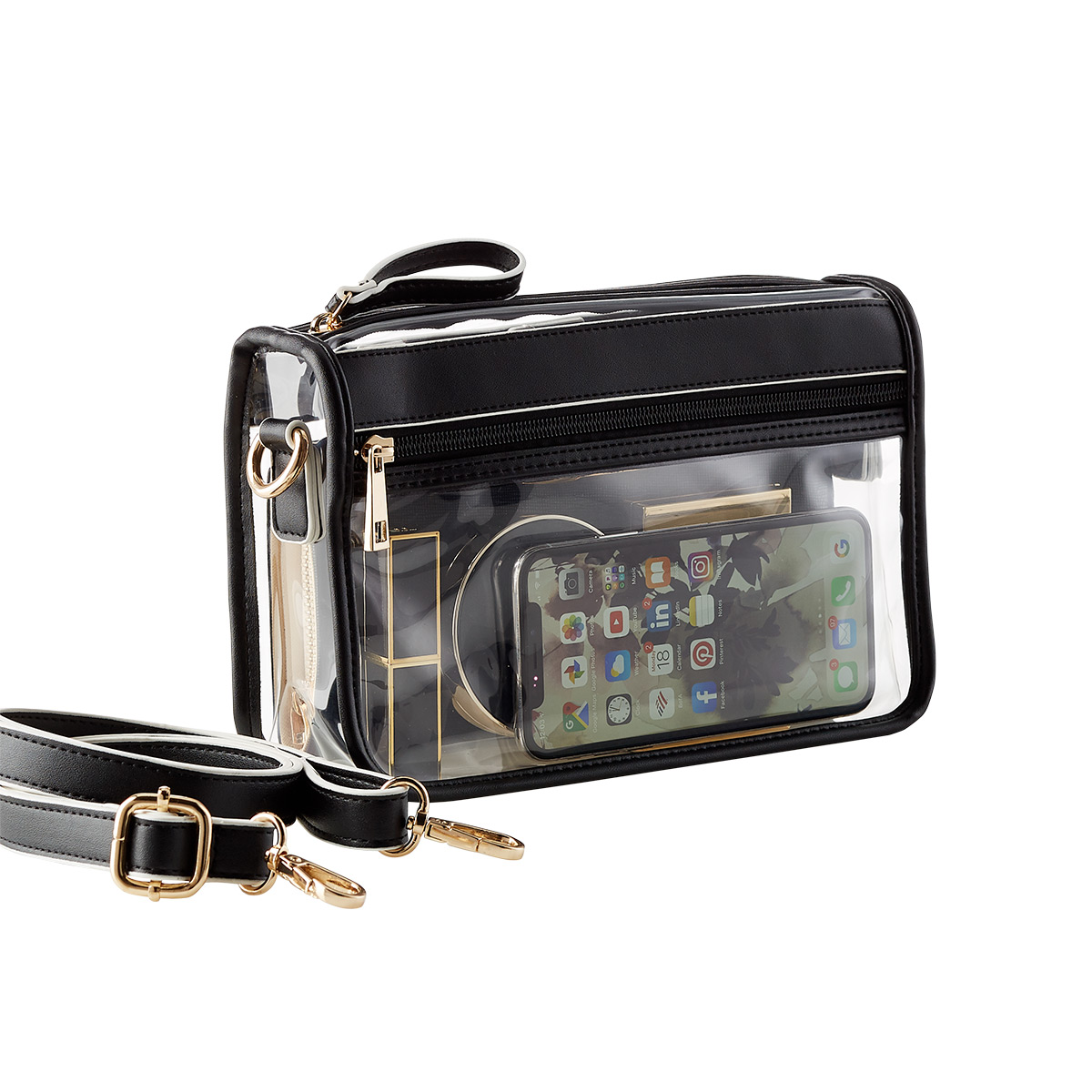 Game Day Clear Crossbody Bag