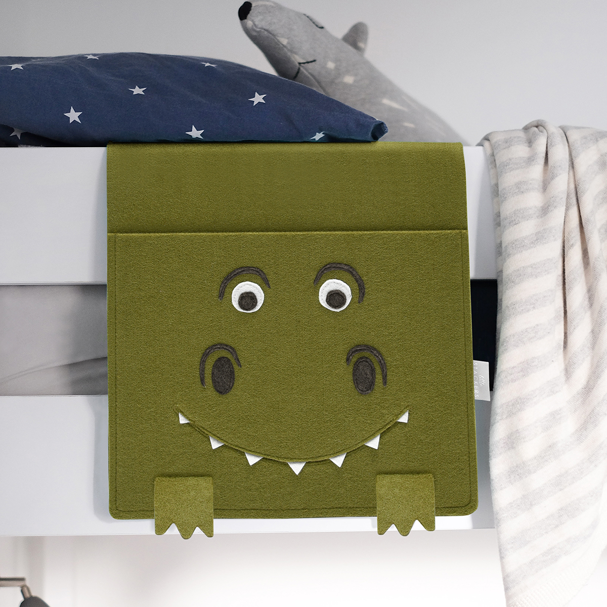 Little Stackers T-Rex Bedside Storage Caddy