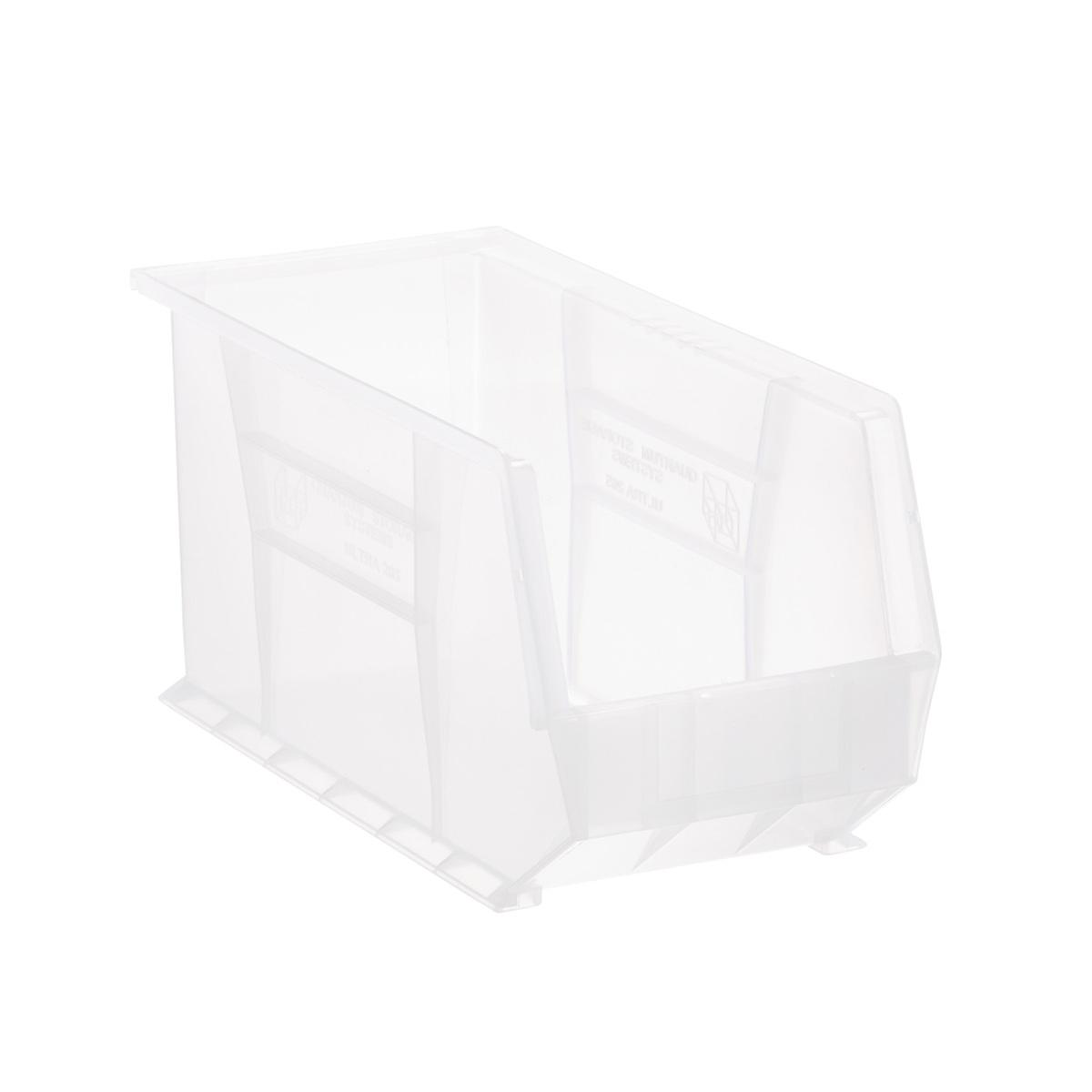 Utility Narrow Large Stackable Plastic Bins