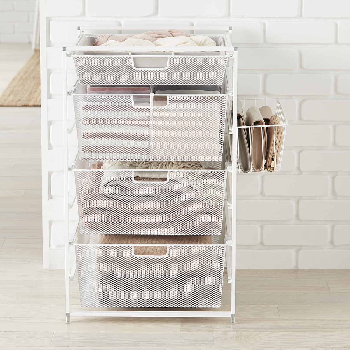 Elfa White Drawers Solution & Organizers