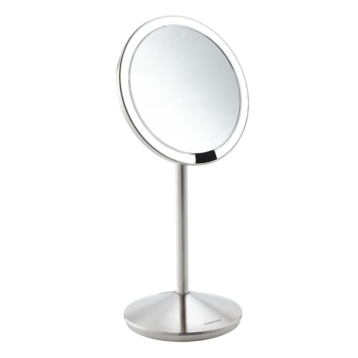 simplehuman 10X Sensor Folding Makeup Mirror