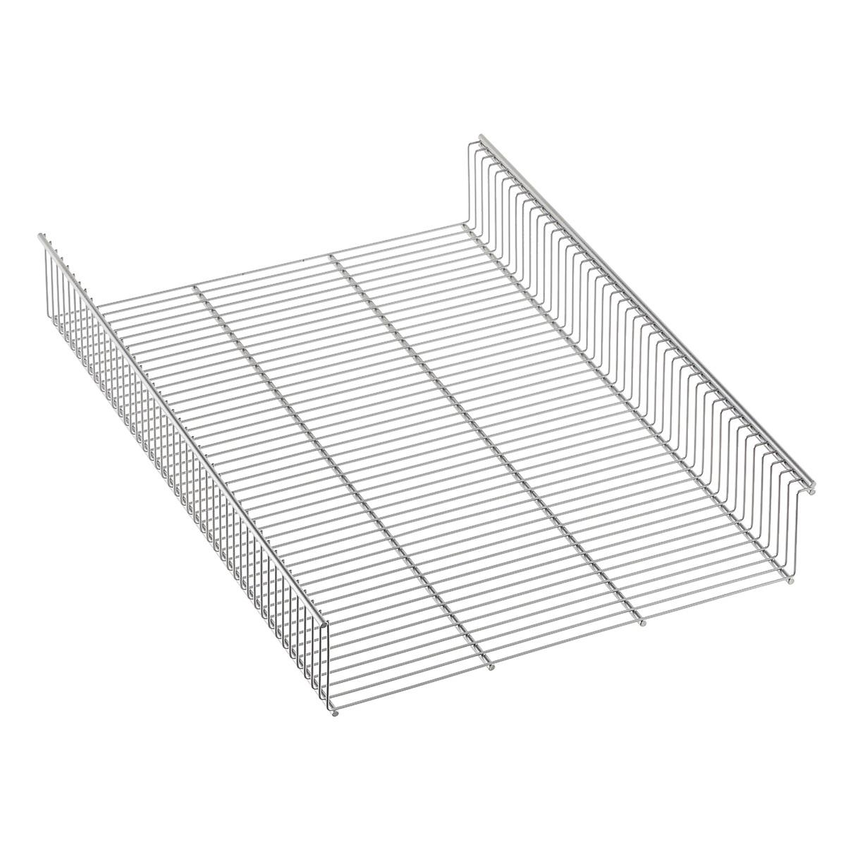 Platinum Elfa Shelf Basket