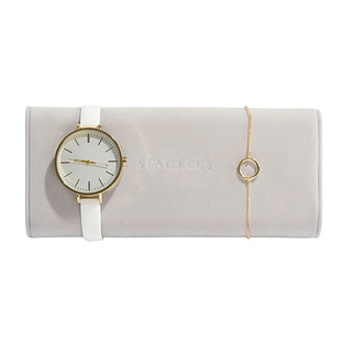 Stackers Taupe Watch Roll
