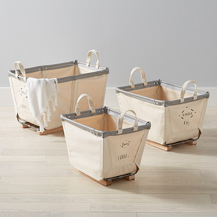 Steele Canvas Natural Carry Baskets