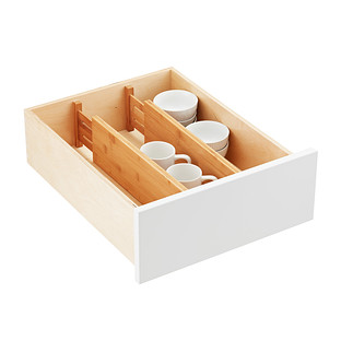 Bamboo Deep Drawer Organizers