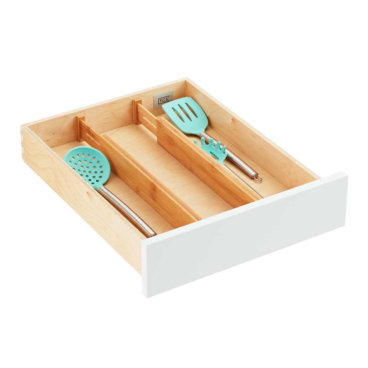 Bamboo Drawer Organizers