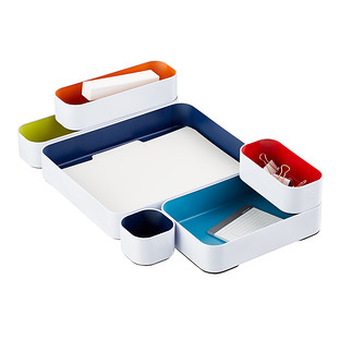 Three by Three Deep Metal Drawer Organizers