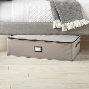 Grey Under Bed Storage Bag