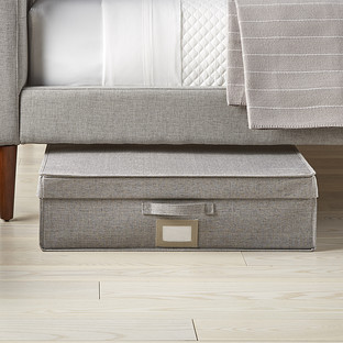 Oxford Grey Under Bed Compactor Storage Box