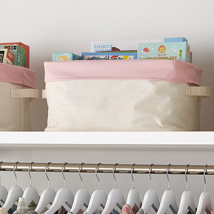 Pink Color Pop Collapsible Storage Bin