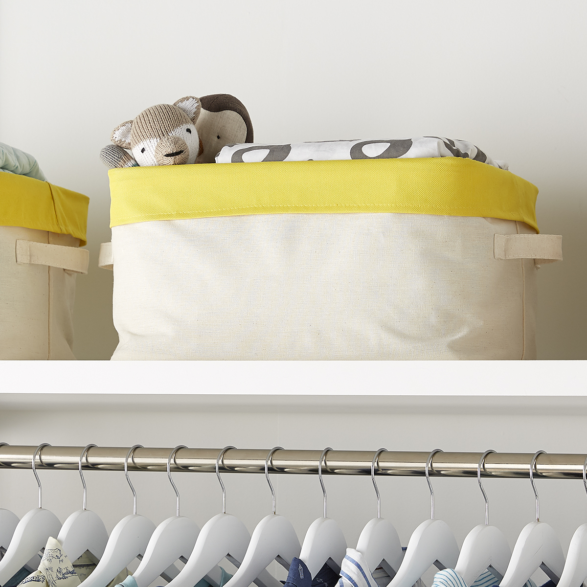Yellow Color Pop Collapsible Storage Bin