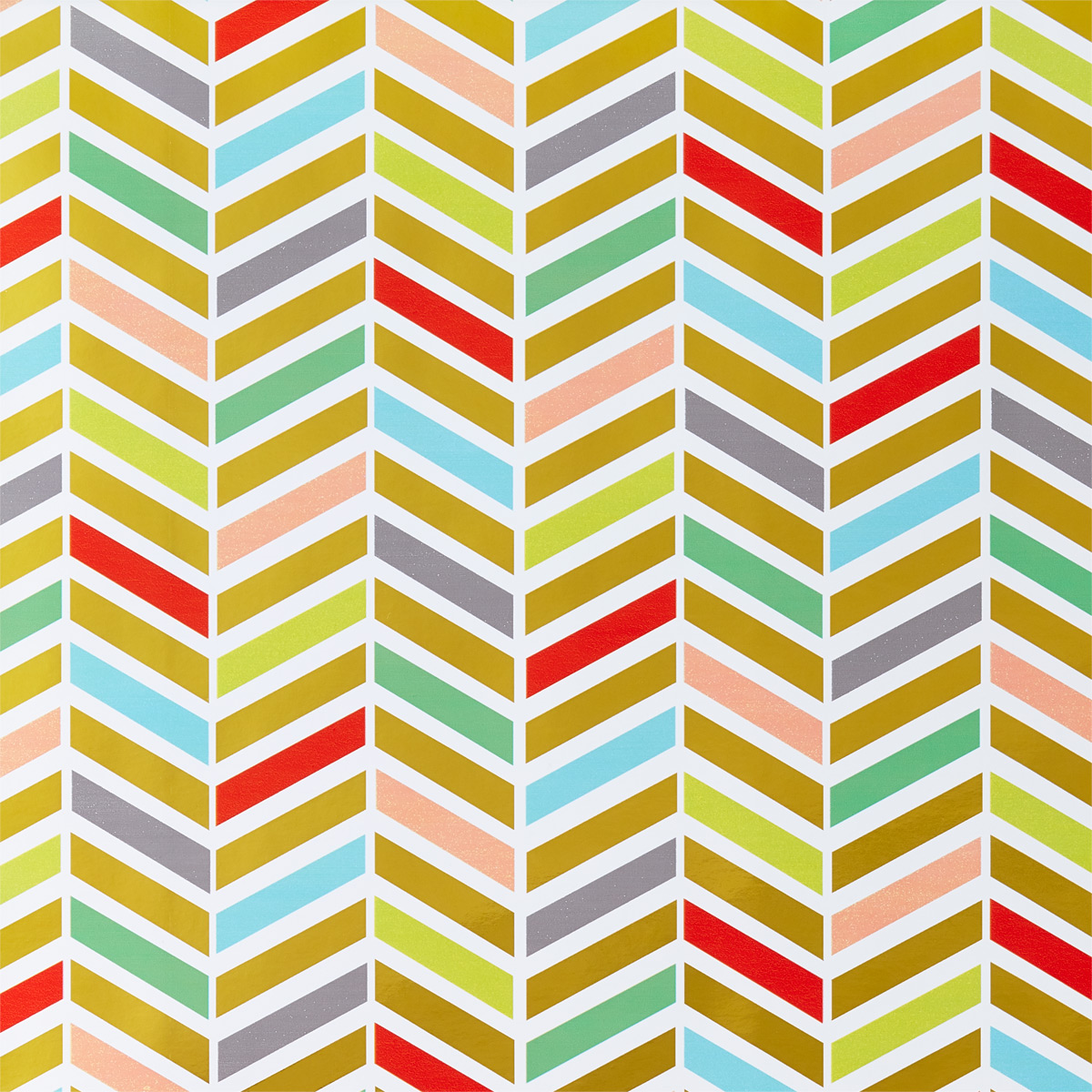 Colorful Chevron Wrapping Paper