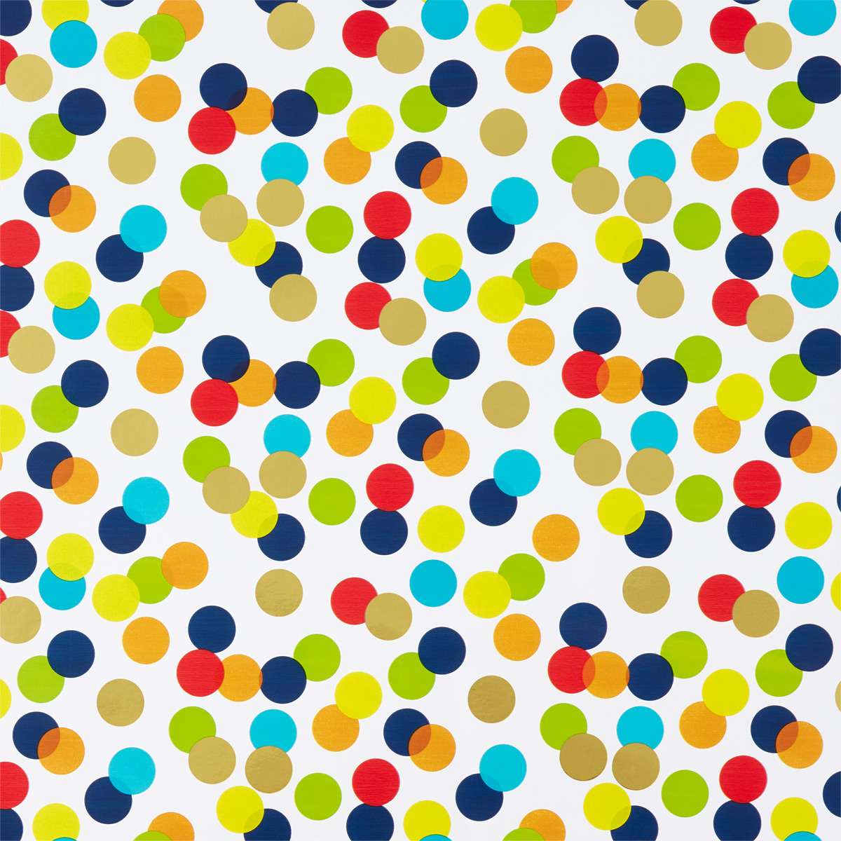 Colorful Dots Wrapping Paper