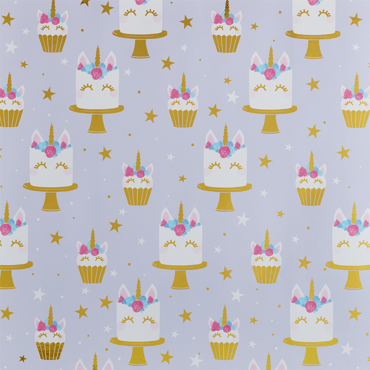 Sleeping Unicorn Wrapping Paper