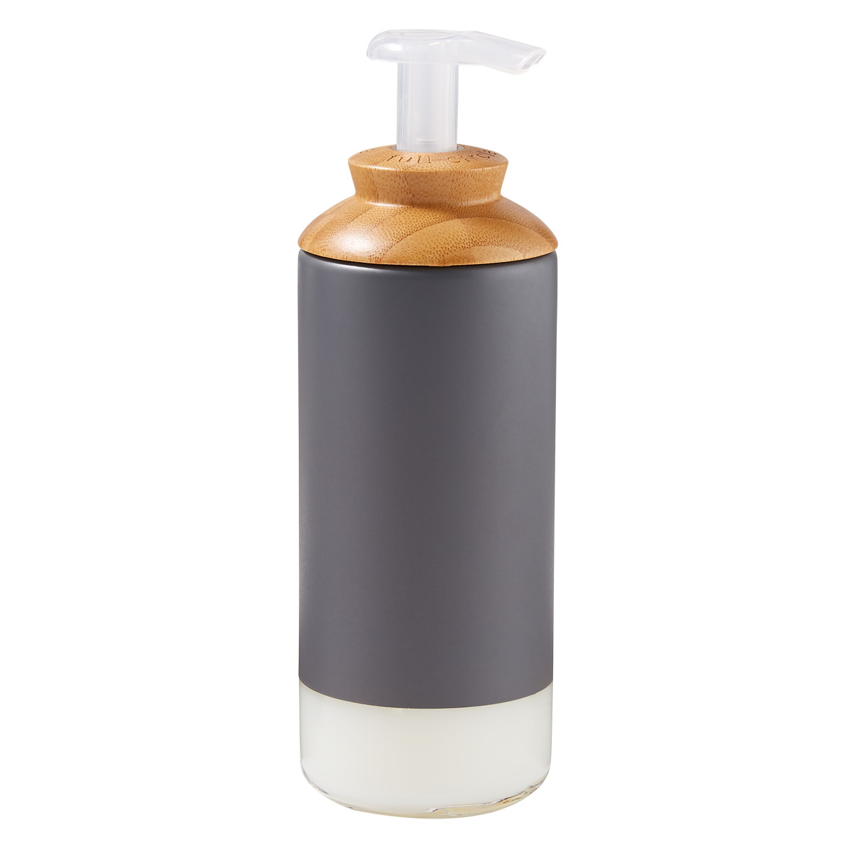 Full Circle 12 oz. Bamboo Soap Dispenser