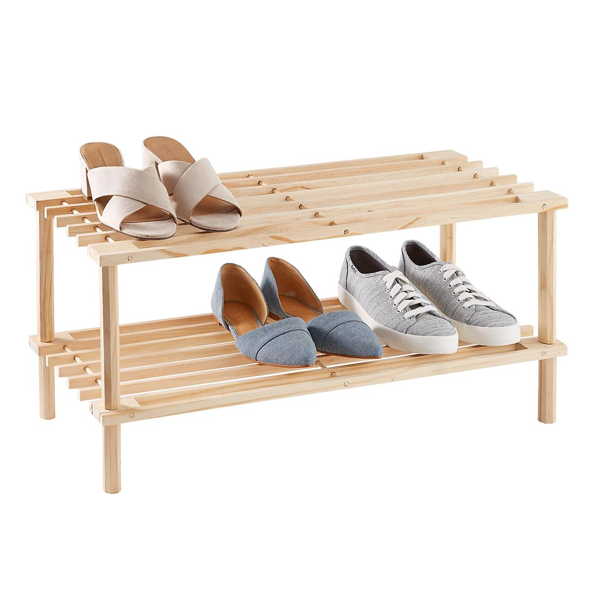 2-Tier Shoe Rack