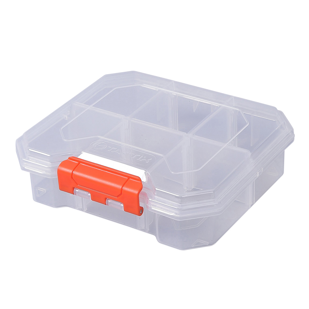 Small Clear Divided Parts Box