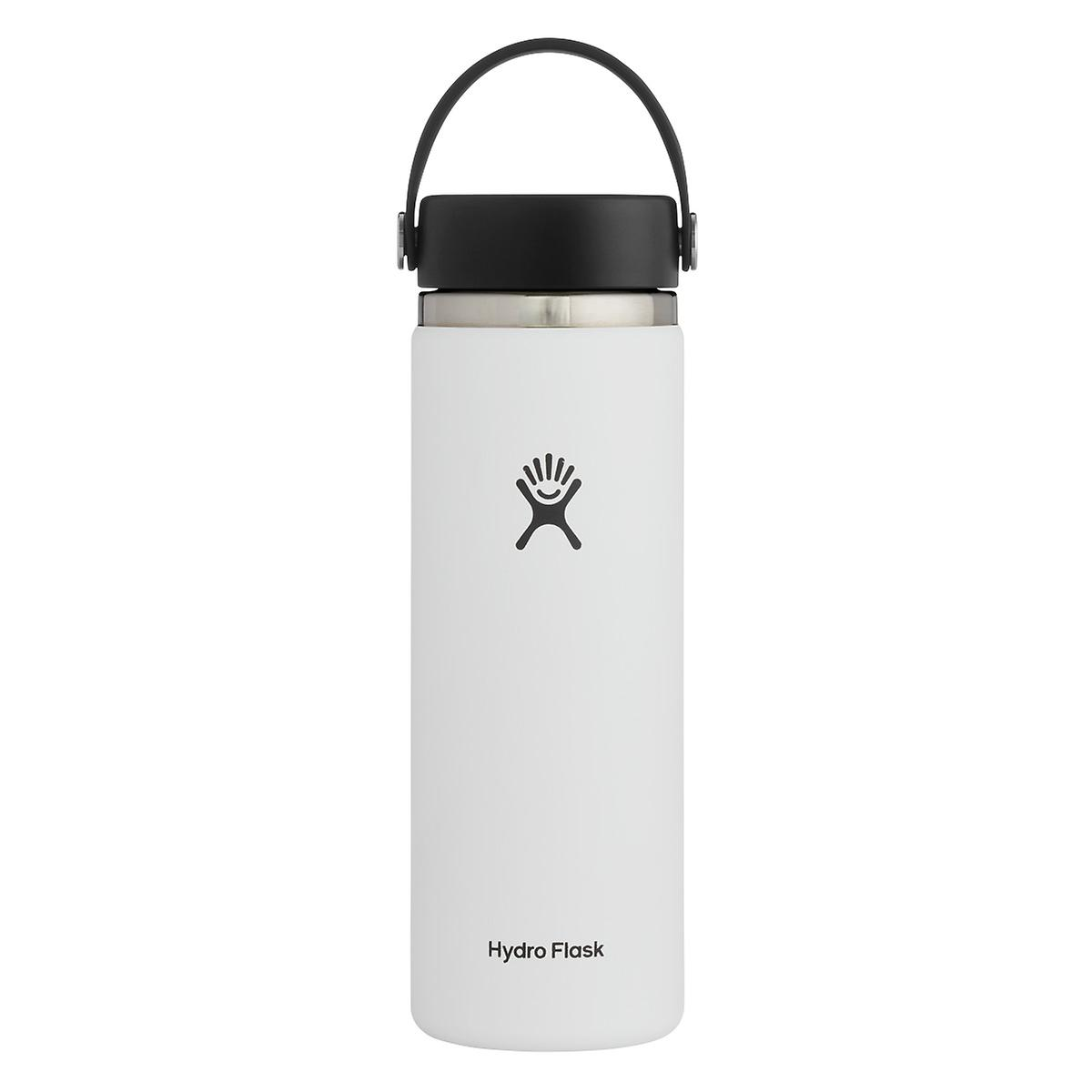 White 20 oz. Wide Mouth Hydro Flask