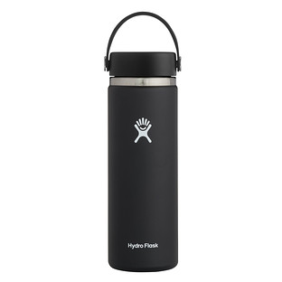 Black 20 oz. Wide Mouth Hydro Flask