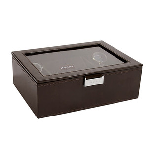 Stackers Brown Watch Boxes