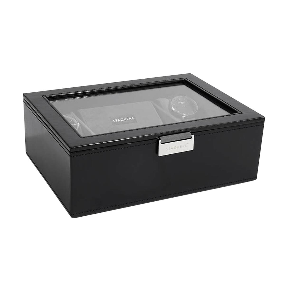 Stackers Black Watch Boxes