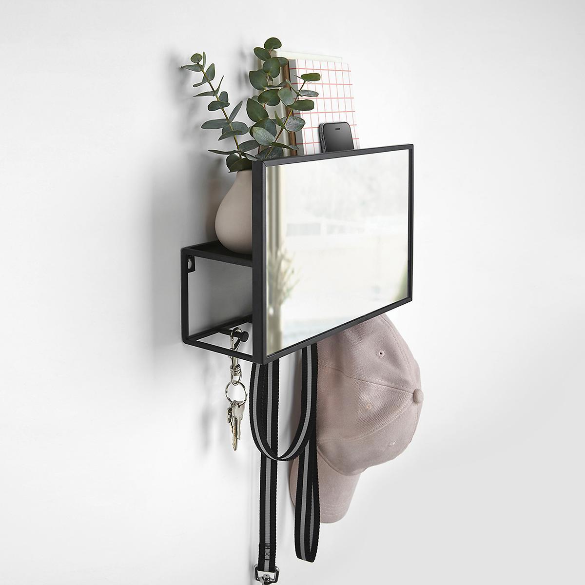 Umbra Cubiko Organizer Wall Mirror