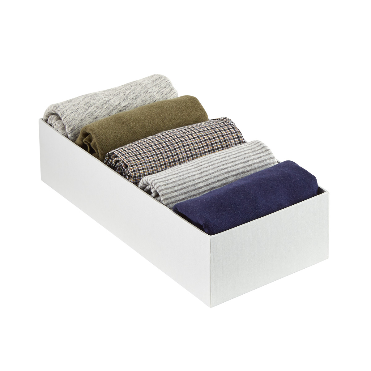 Bigso Light Grey Stockholm Drawer Organizer