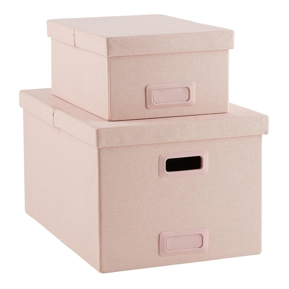 Blush Poppin Storage Boxes