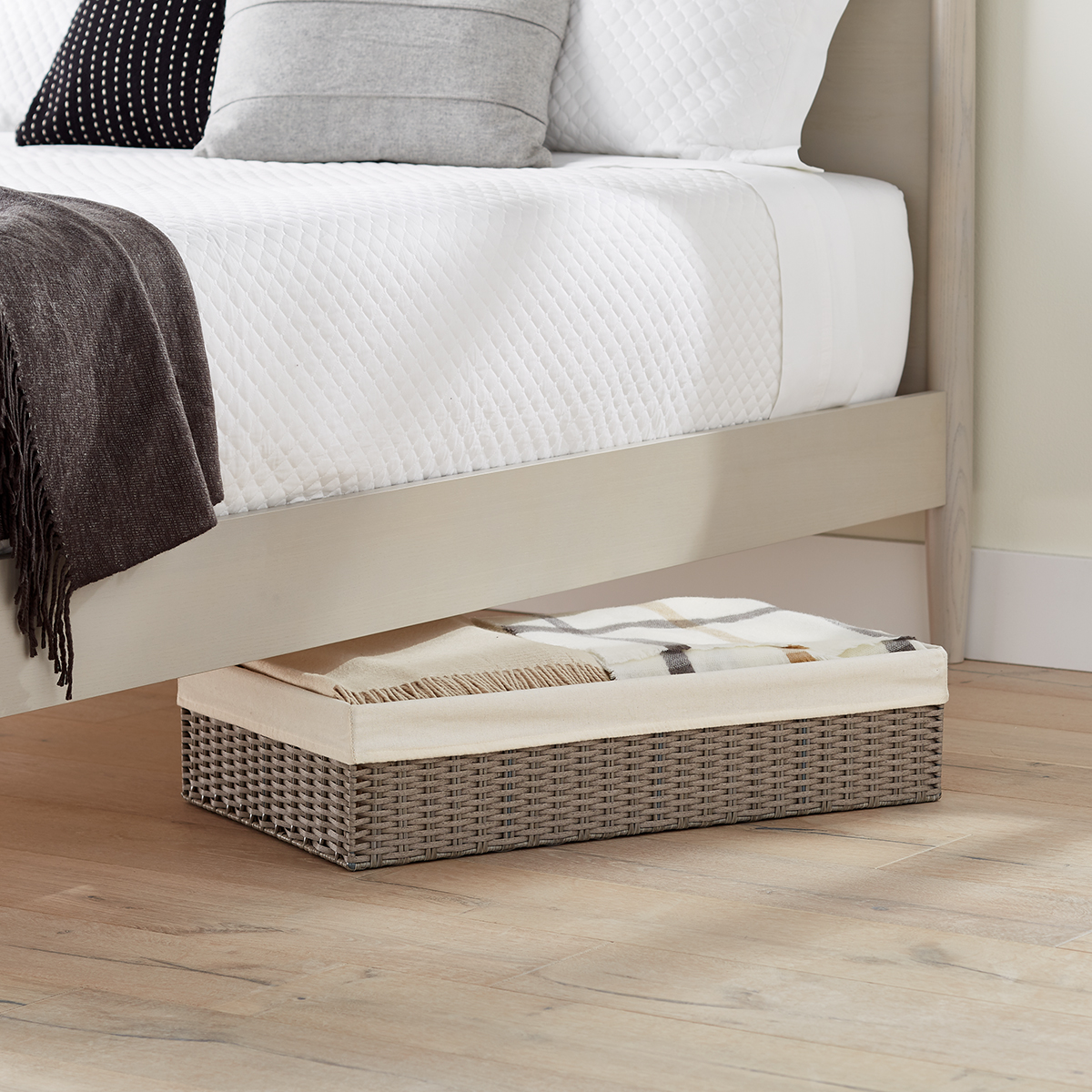 Grey Montauk Underbed Storage Bins