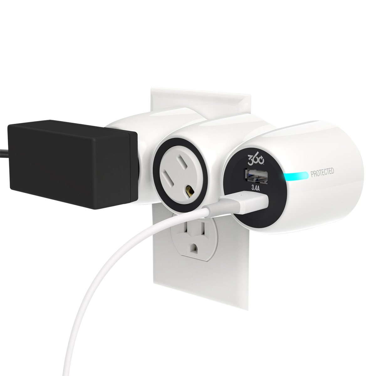 360 Electrical PowerCurve Mini 3.4 Surge Protector