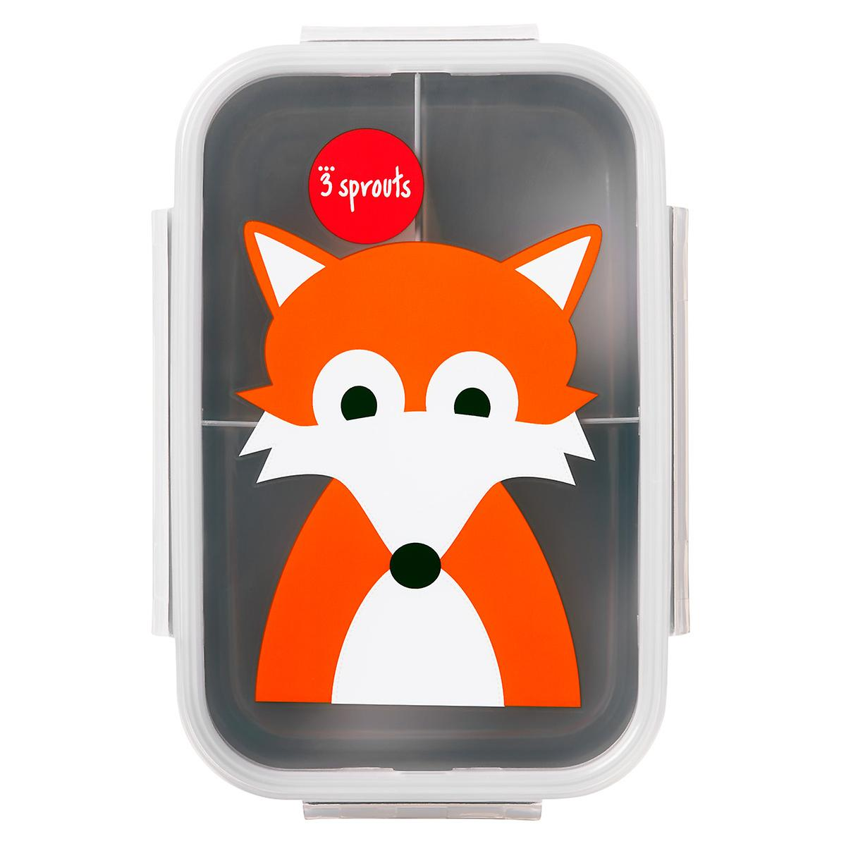 3 Sprouts Fox Bento Box