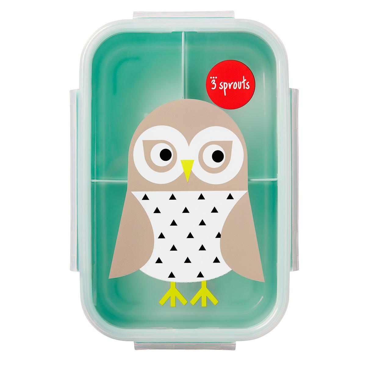 3 Sprouts Snow Owl Bento Box